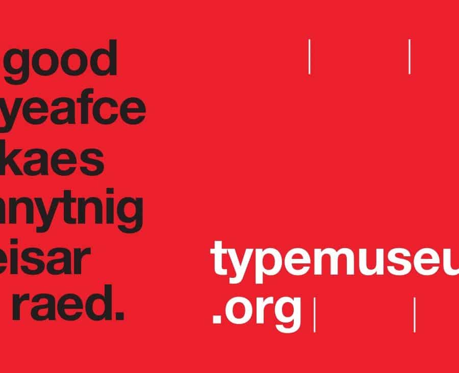 A good tpyeafce mkaes ahnytnig eeisar to raed - typemuseum org