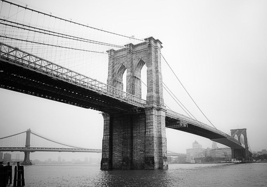 Brooklyn Bridge Photographed by Cameron Moll