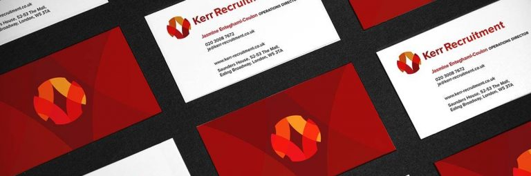 Kerr Recruitment Logo and Brand Identity Design
