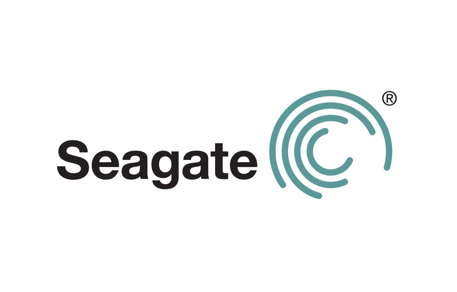 Seagate logo design