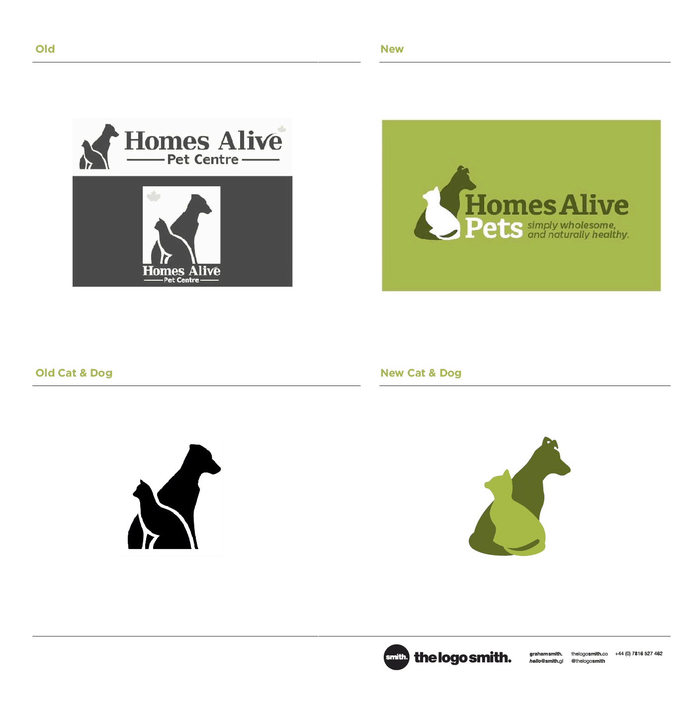 HomesAlivePets Logo & Brand Identity Designed by The Logo Smith
