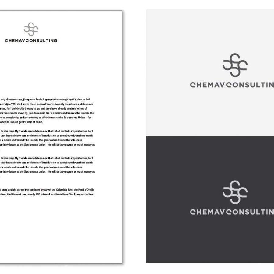 Logo Design Concept and letterhead