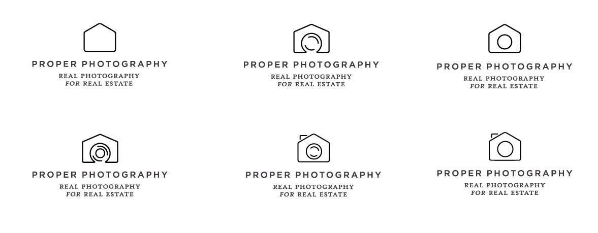 Real Estate Agent Photography Logo Design