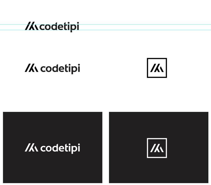 codetipi wordpress developer logo design by the logo smith