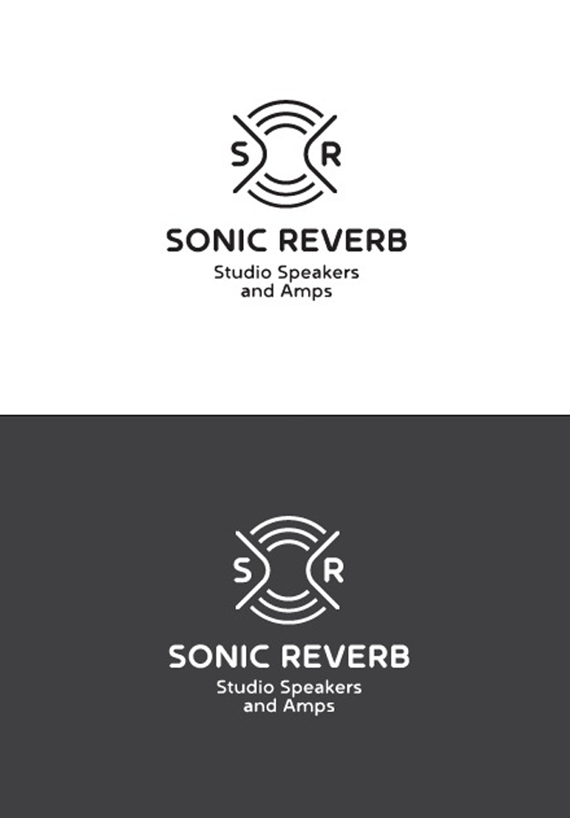 sonic-reverb-music-audio-speaker-logo-design1