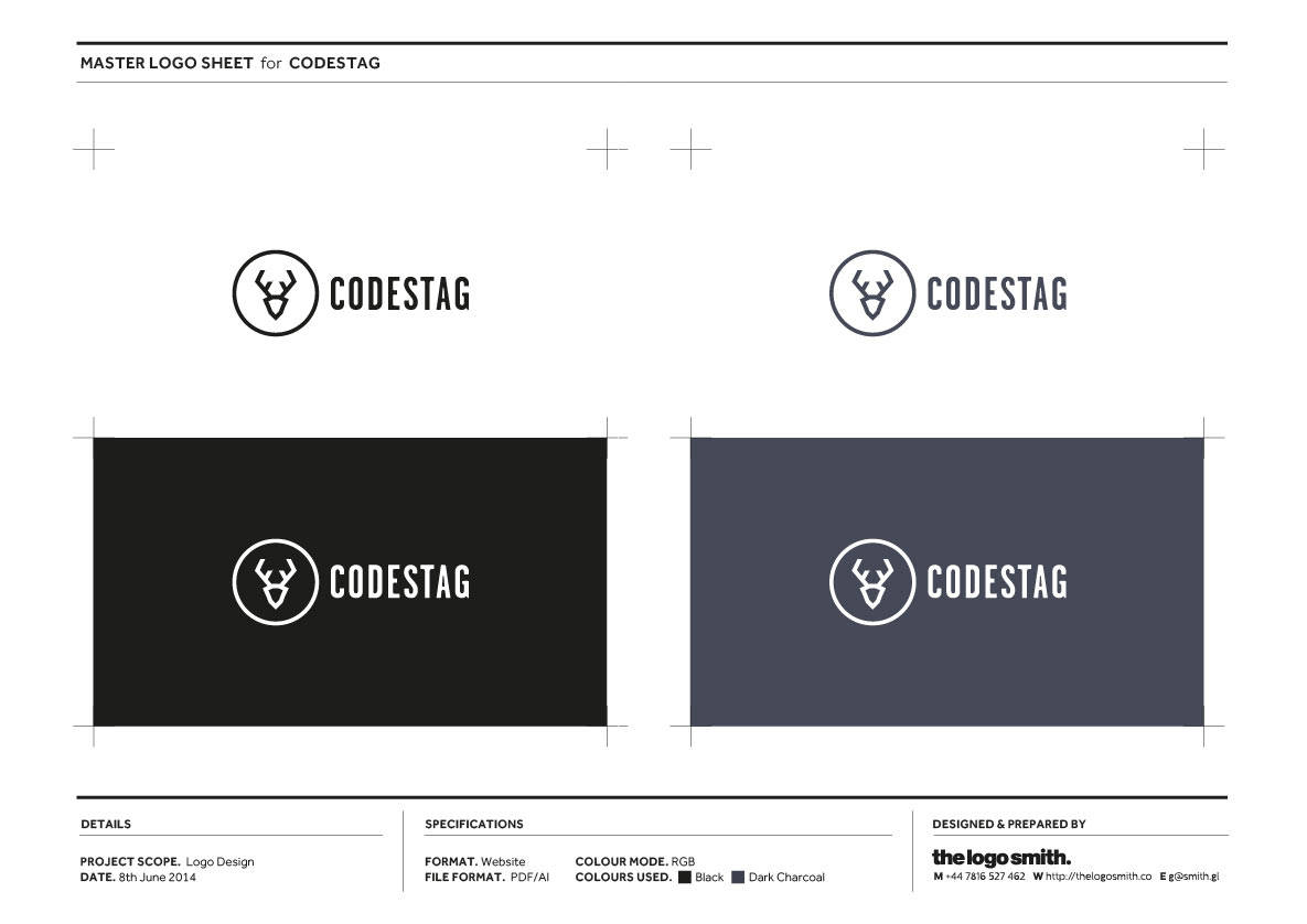 Master Logo Sheet for Logostag