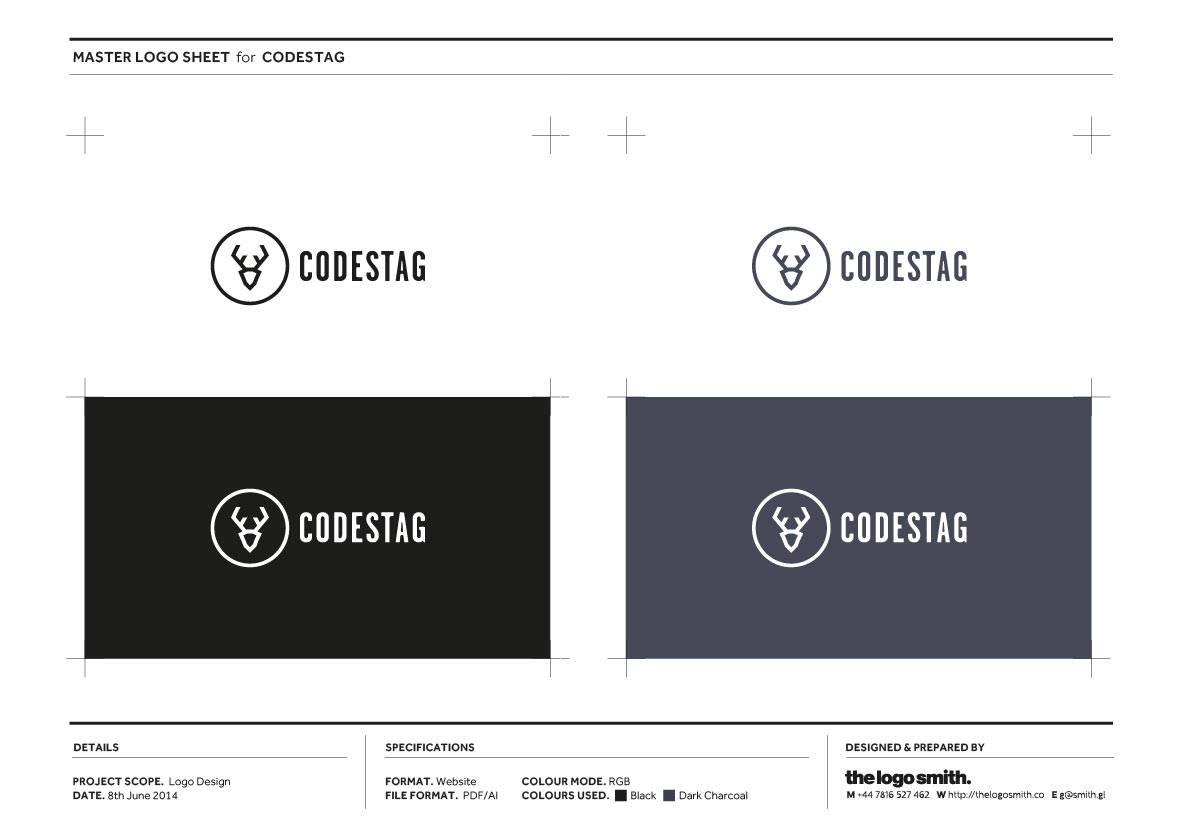 Codestag Logo Designthe Smith Presentation Templates