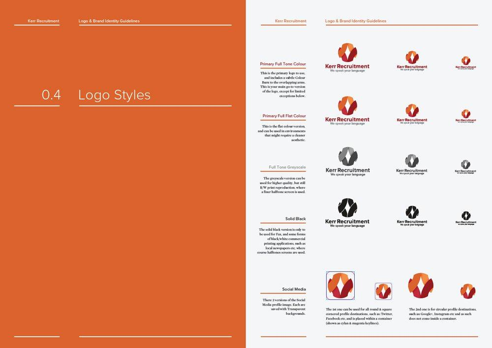 14 16 Page Logo Amp Brand Identity Guidelines Template For