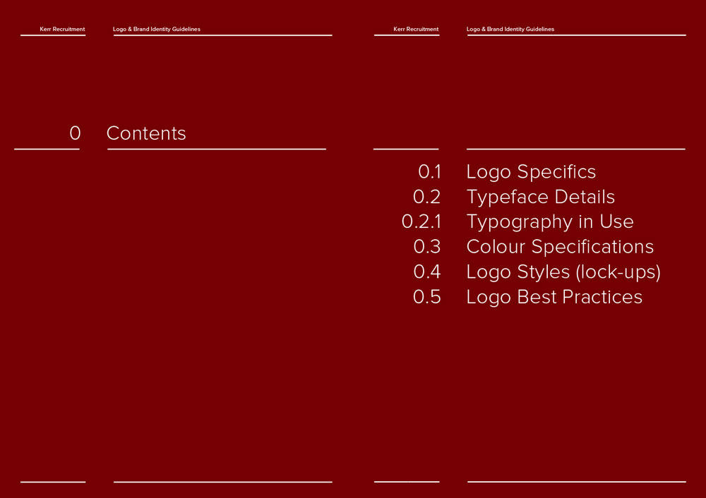 Logo and Brand Identity Guidelines Template for Download