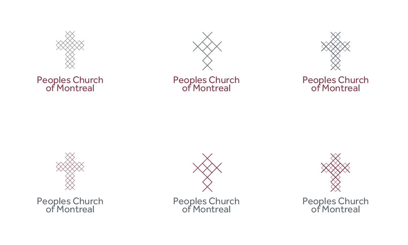 Peoples Church of Montreal - Church Logo Design - Designed by The Logo Smith