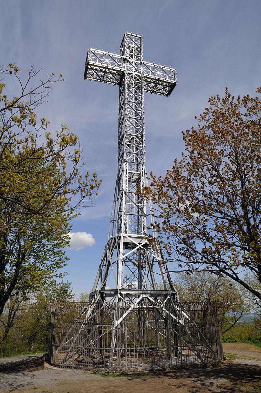 Mount Royal Cross is a monument on top of Mount Royal in Montreal, Quebec, Canada