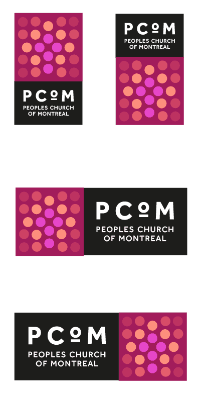 Peoples Church of Montreal - Church Logo Design