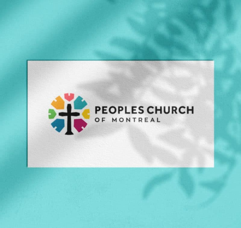 Peoples Church of Montreal Logo Designed by The Logo Smith Portfolio 2019