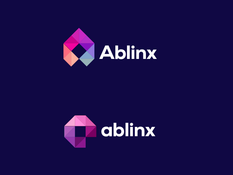 Ablinx Logo Design and iOS App Icon Design by The Logo Smith