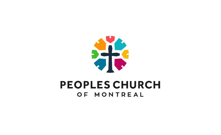 Logo Portfolio for Peoples church of montreal logo & Icon Designed by Freelance Logo Designer The Logo Smith.