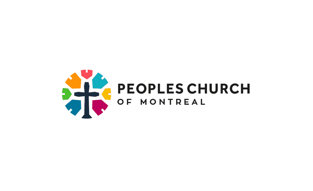 Peoples Church of Montreal Logo Brand Identity Designed by The Logo Smith