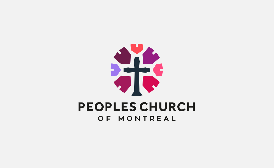 Peoples Church of Montreal Logo Design