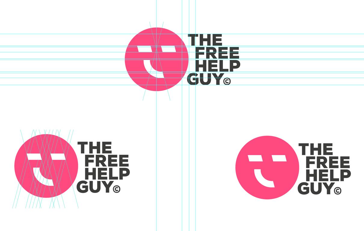 TheFreeHelpGuy Logo Design