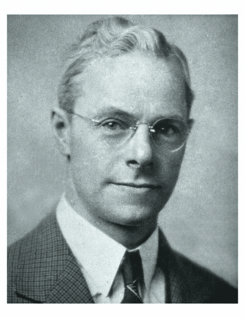 Founding pastor of Peoples Church, Reverend John Linton (1938-1940).