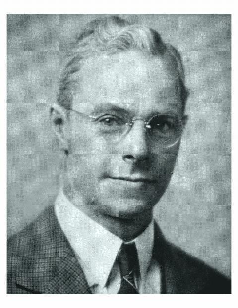 Founding pastor of Peoples Church, Reverend John Linton (1938-1940).