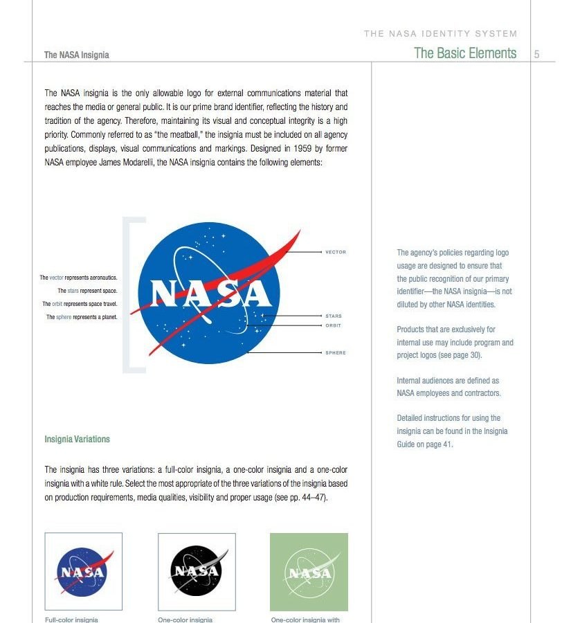 NASA Brand Identity Manual