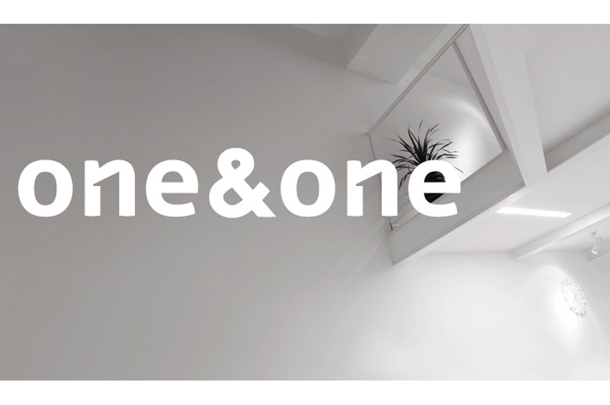 One&One Negative Space Logo Design Designed by One&One