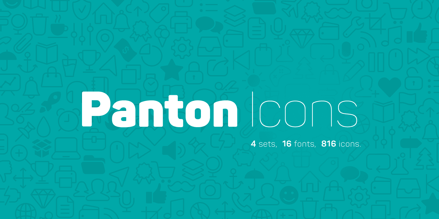 Panton Font Designed by FontFabric