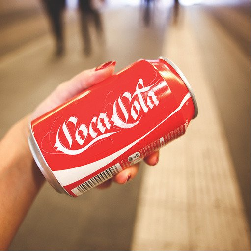 Brand by Hand Coca Cola logo