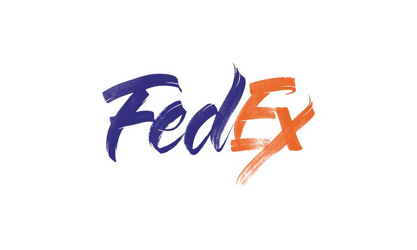 Brand by Hand FedEx Logo Design by Sara Marshall