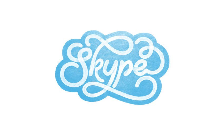 Skype Logo Design by Sara Marshall