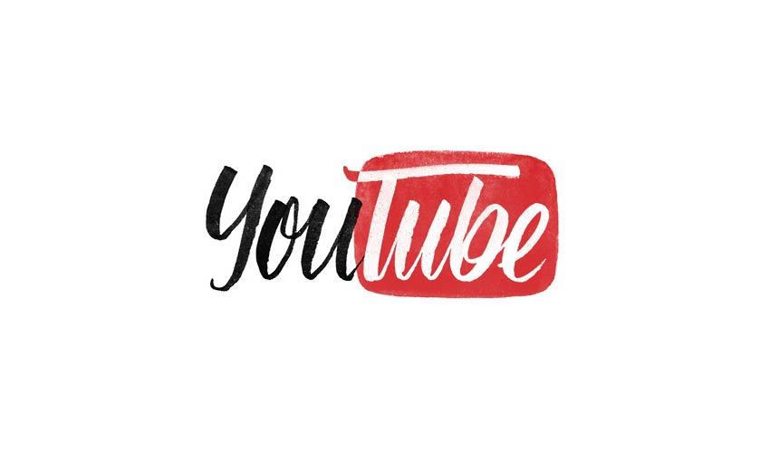 Brand by Hand Youtube Logo Design by Sara Marshall
