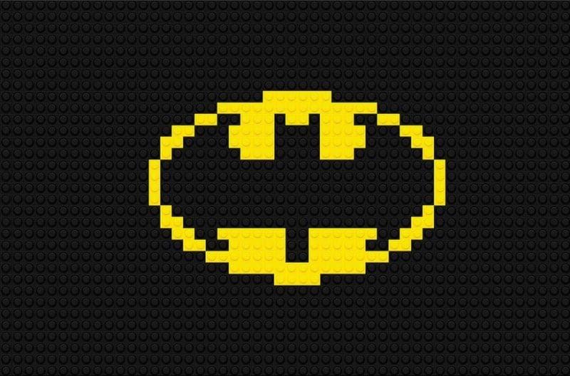 Batman Logo as Lego brands