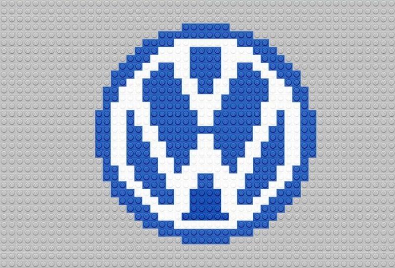 VW Logo as Lego brands