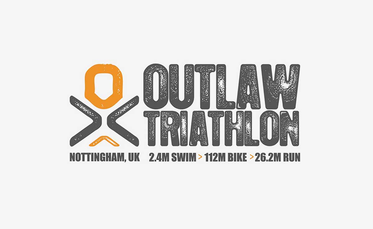 Outlaw Triathlon Logo Design
