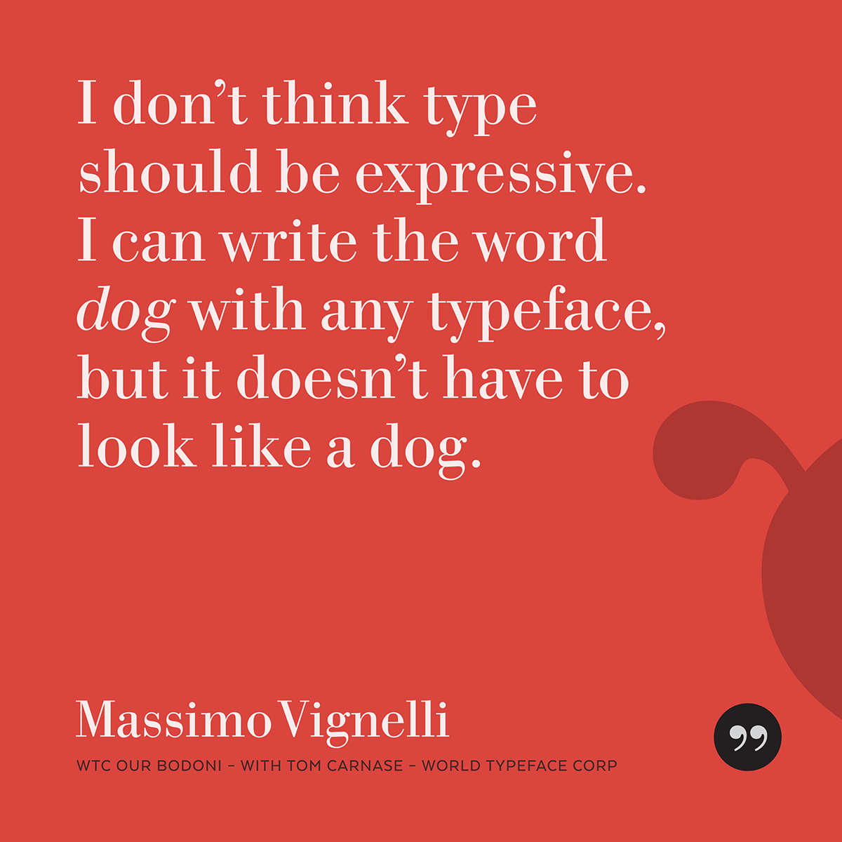 Thoughts on Type from Type People by Bill Dawson