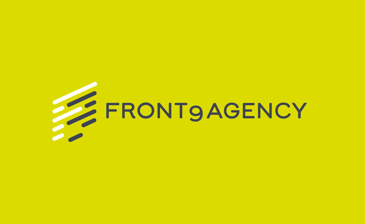 Front9 Agency Direct Online Sales Designed by Freelance Logo Designer The Logo Smith.