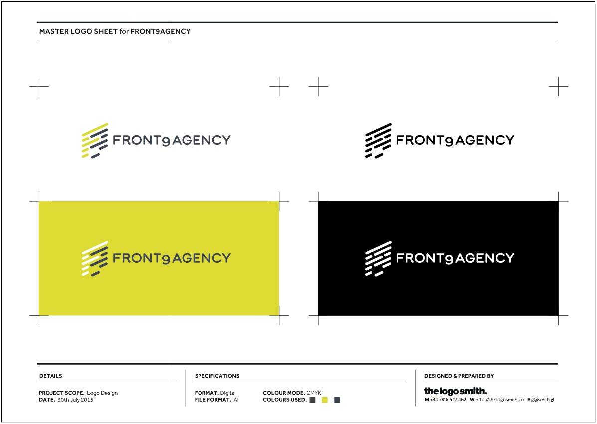 Front9Agency Logo Sheet