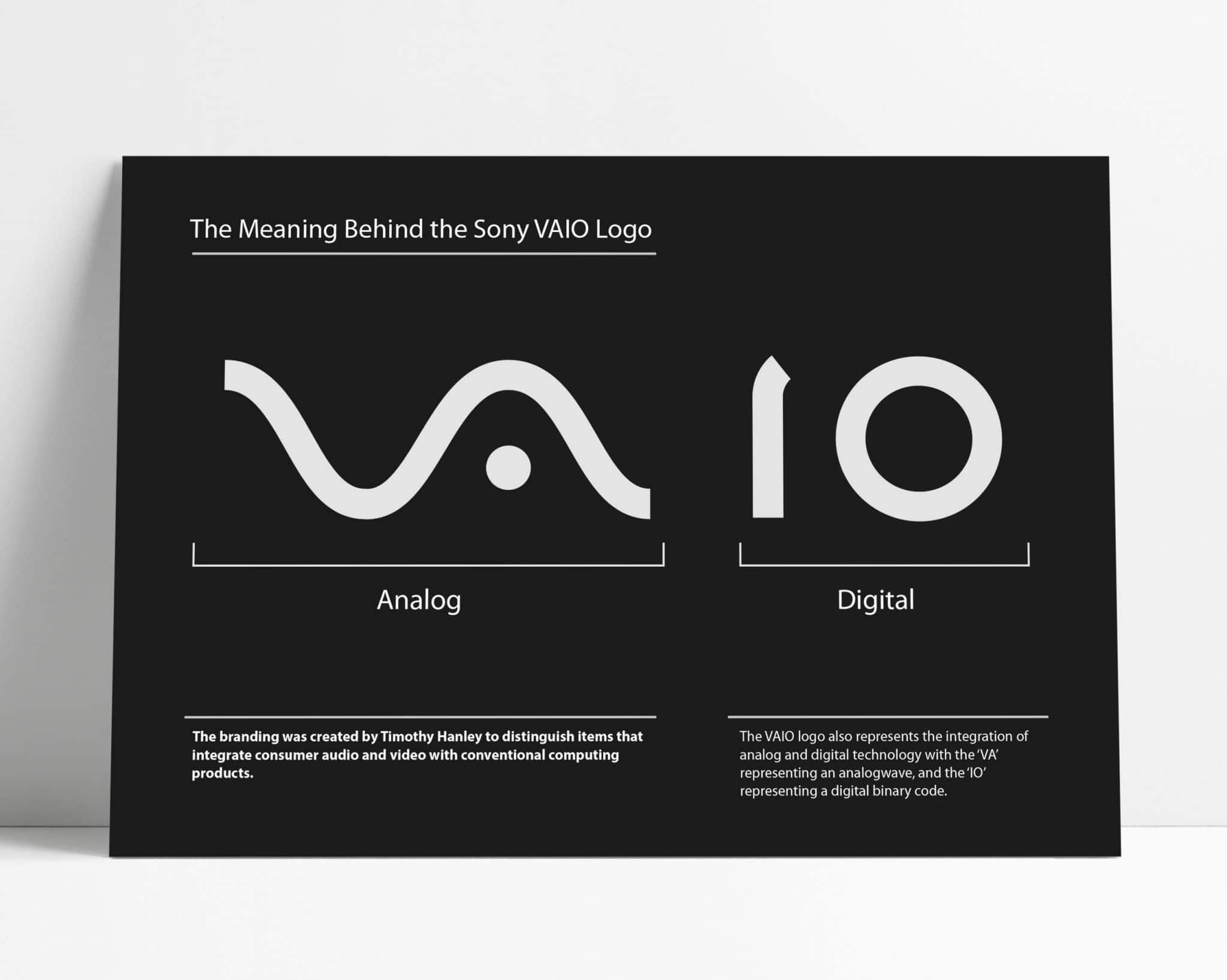Meaning behind the Sony VAIO Logo Design