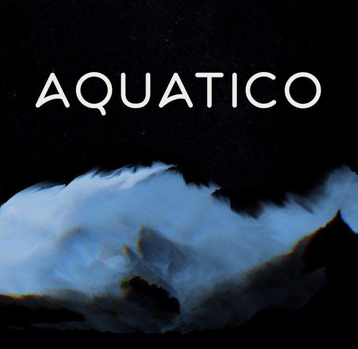 Aquatico Font designed by Andrew Herndon