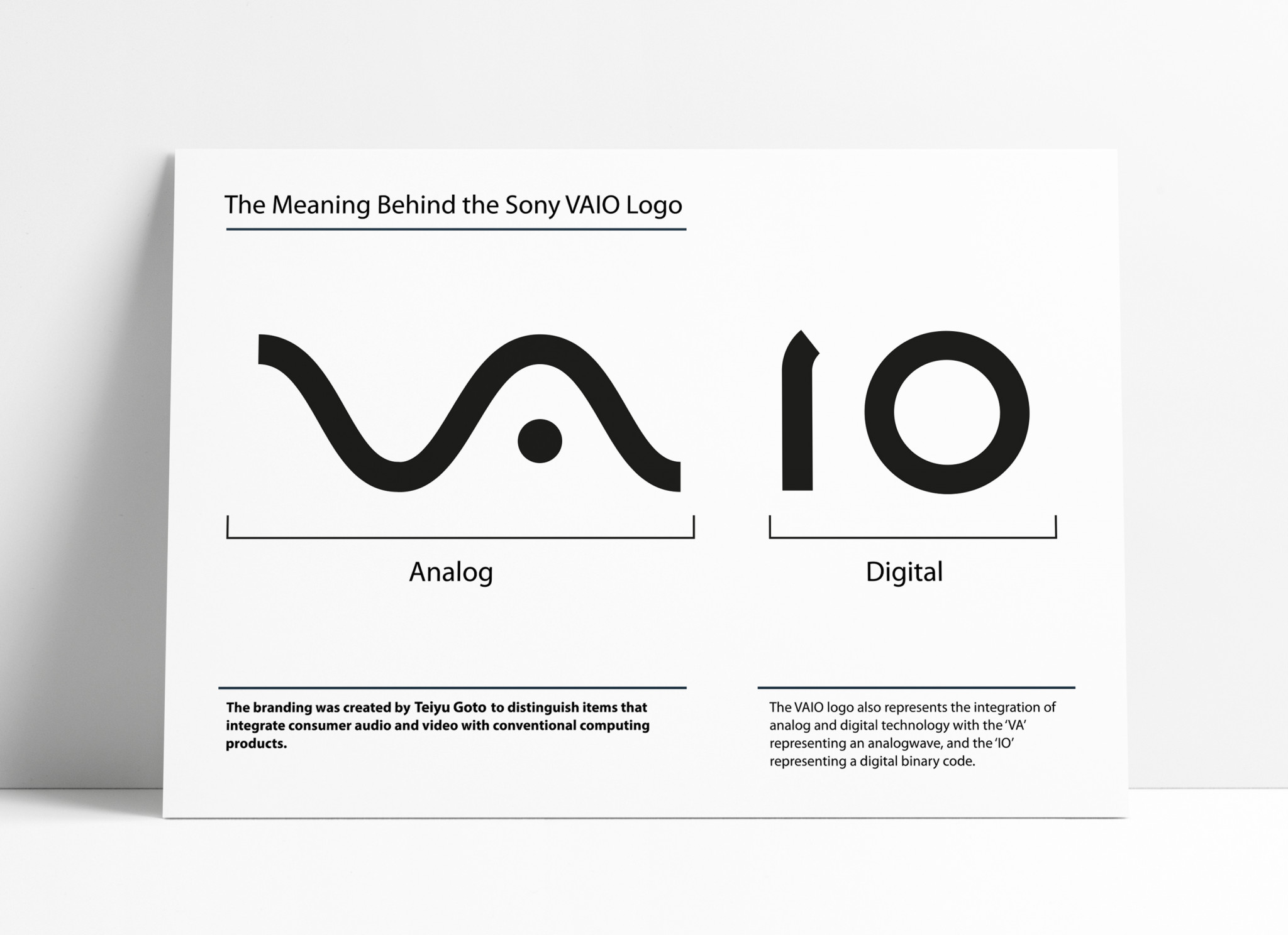 The Sony Vaio Logo - The Meaning Behind Sony's Laptop Logo