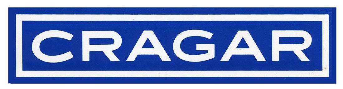 Cragar Vintage Racing Logo Decal