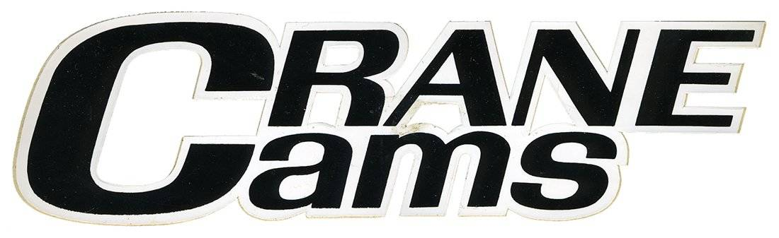 Crane Cams Vintage Racing Logo Decal