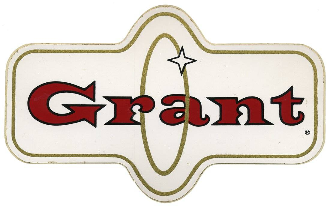 Grant Vintage Racing Decal
