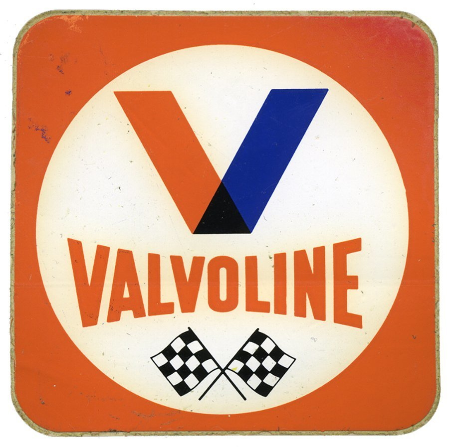 Valvoline Vintage Racing Decal