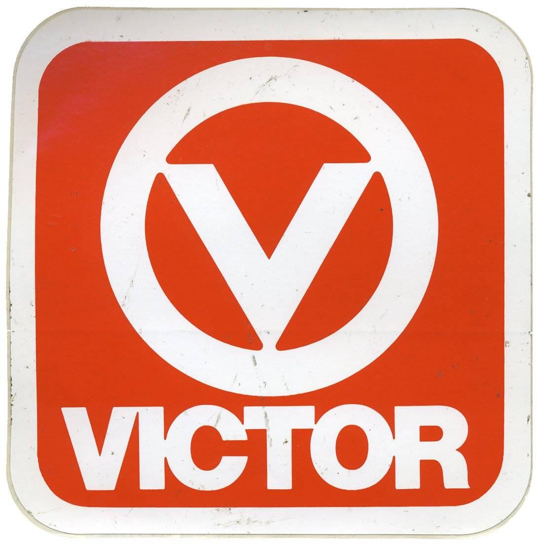 Victor Vintage Racing Decal