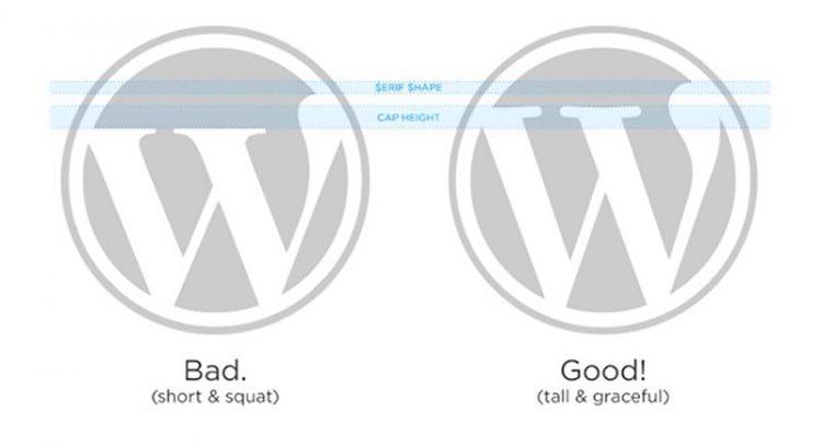 Wordpress Fake and Genuine Logo