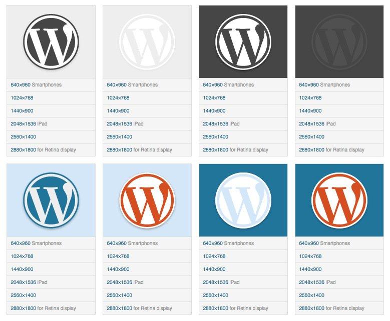 Fake Wordpress Logo Design