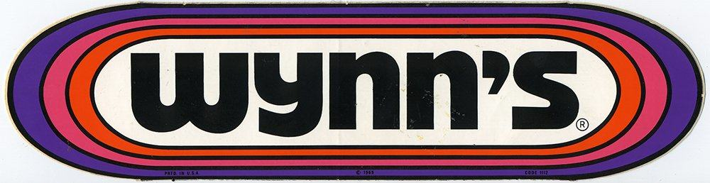 Wynn's Vintage Racing Decal