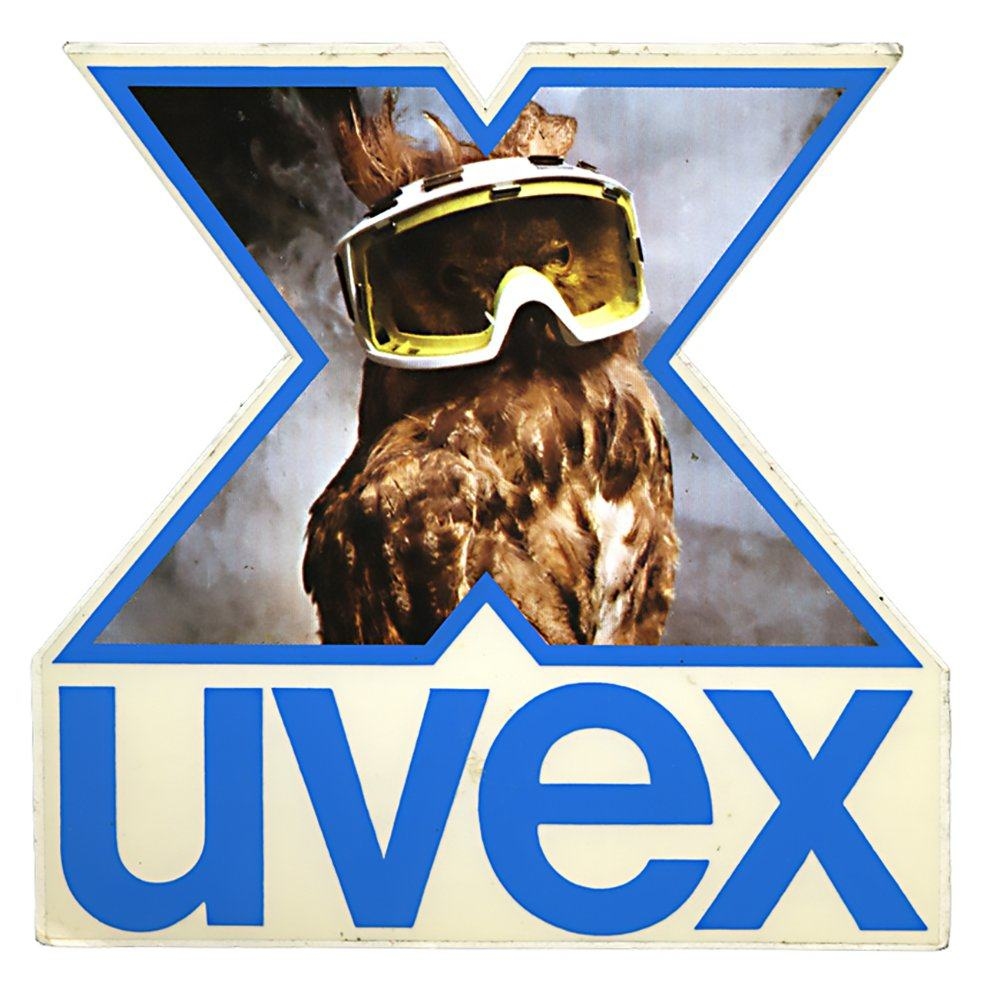 uvex Vintage Racing Logo Decal