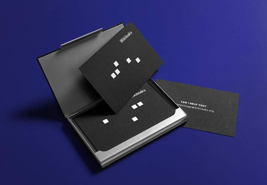 Wikileaks Rebrand Concept by Luis Rocha